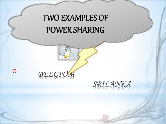 Power Sharing Ppt Presentation