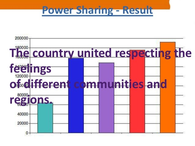 Why power sharing is desirable