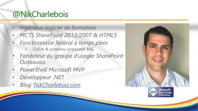 PowerShell - NIk Charlebois Slide 2