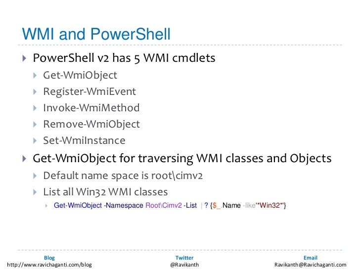 PowerShell and WMI Eventing for IT Pros