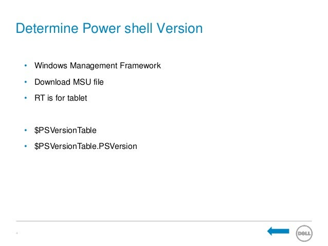 determine net framework version of an application