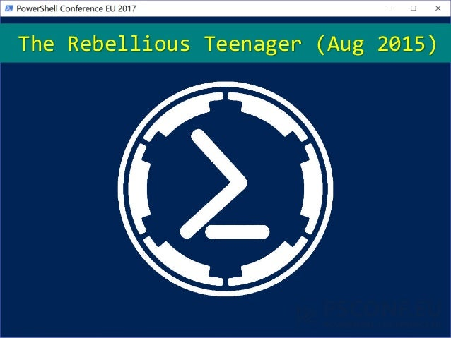 The Rebellious Teenager (Aug 2015)