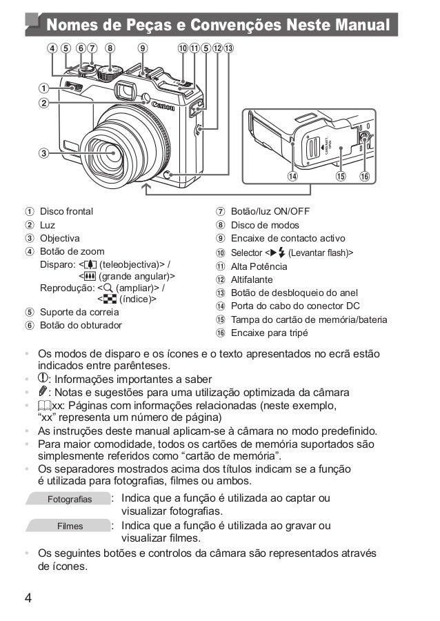 manual canon powershot g15 rh pt slideshare net canon g15 manual en español canon g15 manual pdf download
