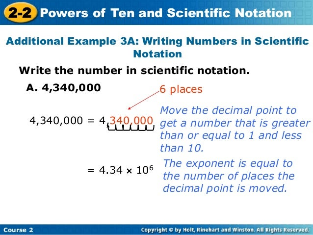 1B Integer Exponents & Scientific Notation
