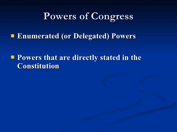 """powers of congress Does congress still have war powers  but congress alone has the  constitutional authority """"to declare war"""" congress did not authorize the."""
