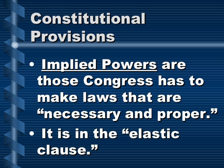 powers of congress Cases, notes, questions, and images concerning the powers granted to congress under the united states constitution.