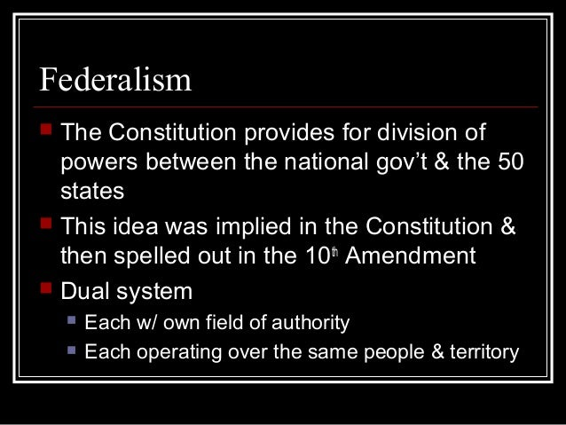 Powers of Government Slide 2