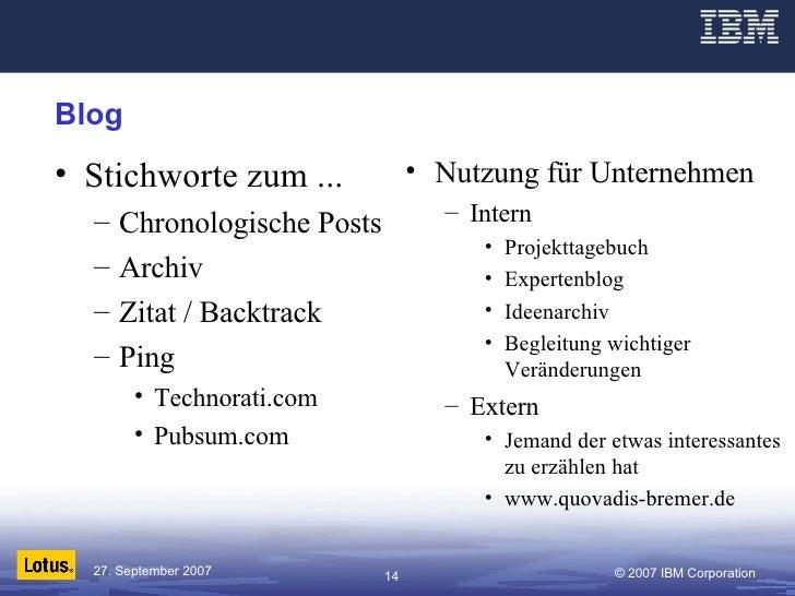 Blog <ul><li>Stichworte zum ... </li></ul><ul><ul><li>Chronologische Posts </li></ul></ul><ul><ul><li>Archiv </li></ul></u...