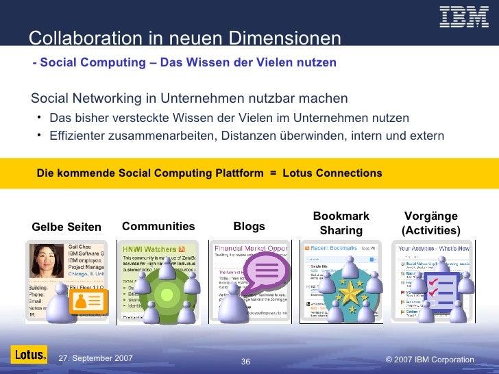 - Social Computing – Das Wissen der Vielen nutzen <ul><li>Social Networking in Unternehmen nutzbar machen </li></ul><ul><u...
