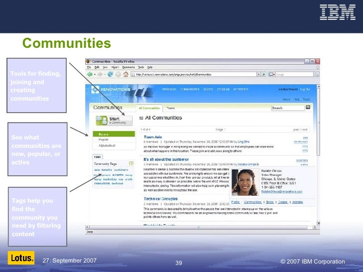 Communities See what communities are new, popular, or active Tags help you find the community you need by filtering conten...