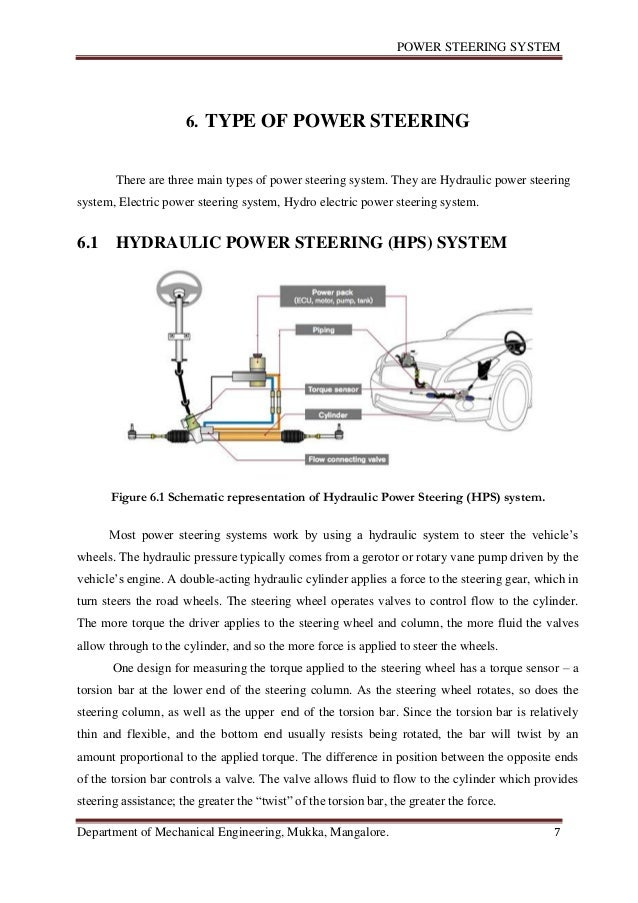 report on steering system How do i decide which steering system is best for my baja sae buggy.