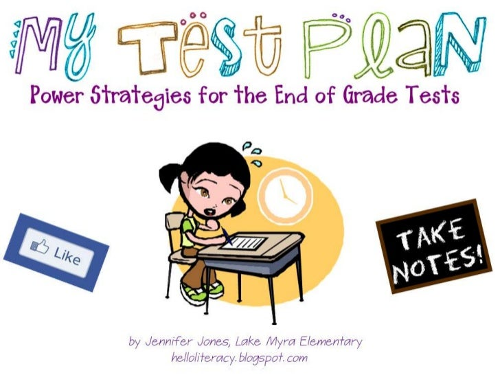 Powerful Test-Taking Strategies - Elementary Level