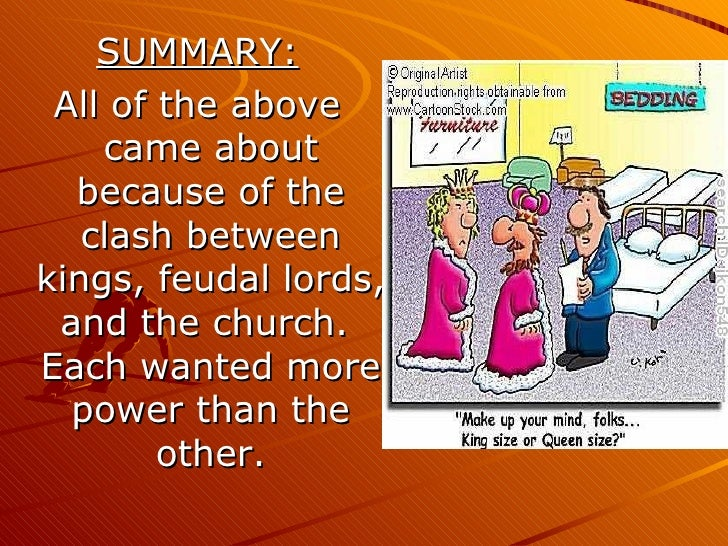 the power struggle between the church and state in the high middle ages in england Late middle ages- churches lose power,  yet the kings gained power in the late middle ages  is the struggle between the catholic church and islam.