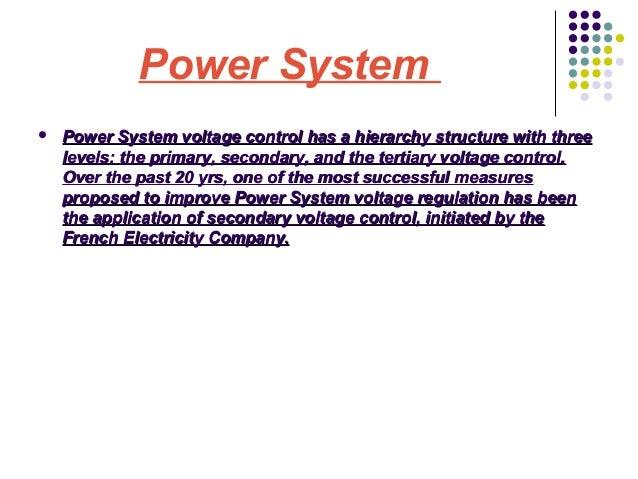 Power system  contingencies Slide 2