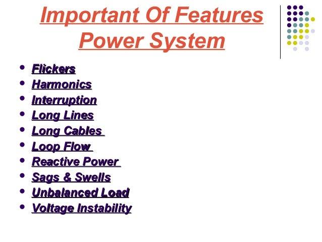 Power system  contingencies Slide 3