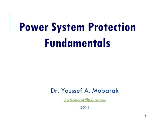 purpose of power system protection Power-system protection is a branch of electrical power engineering that deals with the protection of electrical power systems from faults through the isolation of faulted parts from the rest of the electrical network the objective of a protection scheme is to keep the power system stable by isolating only the components that are under fault .