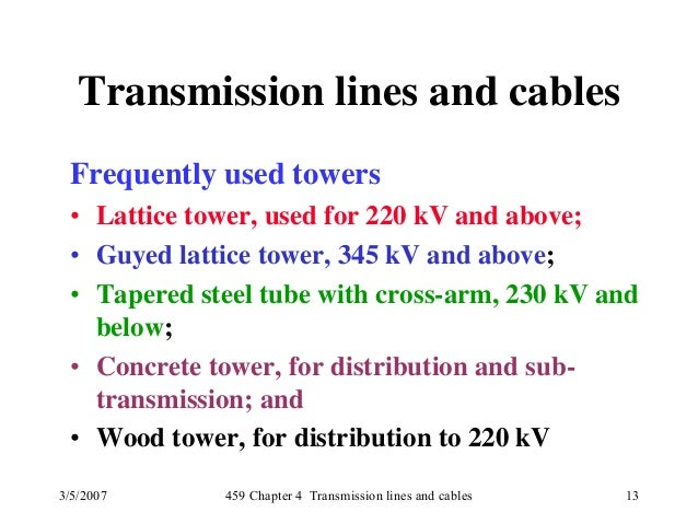 Power System Slide Notes
