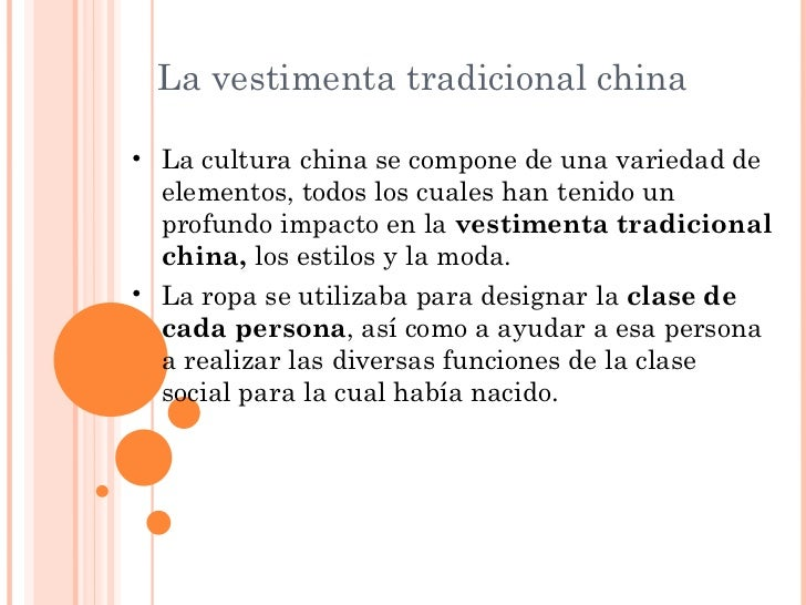 INDUMENTARIA CHINA Slide 2