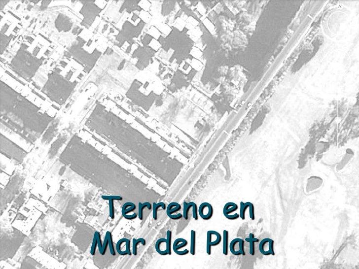 Terreno en Mar del Plata<br />
