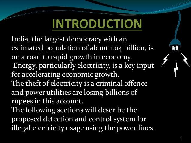 Power theft detection Slide 2