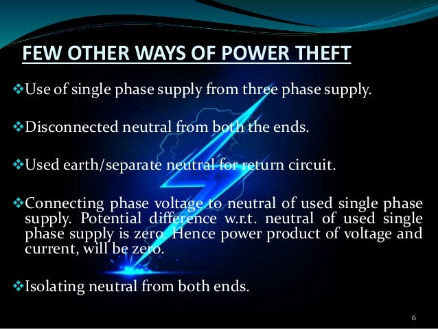 power theft detection Abstract—while technology in on the raising s should also note the increasing  immoral activitie technical view, power theft is a non –ignorable cri highly  prevent.