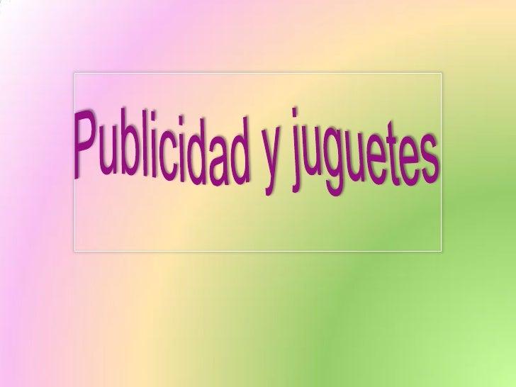 La Publicidad en la                      televisión• Poder de persuasión                        http://www.youtube.com/wat...