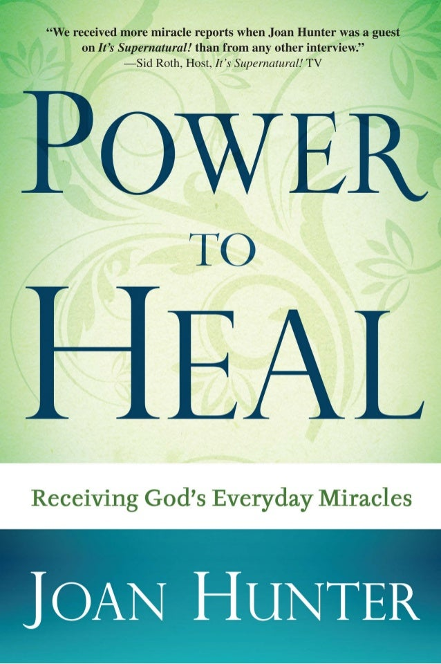 What People Are Saying about Joan Hunter and Power to Heal… We received more miracle reports when Joan Hunter was a guest ...