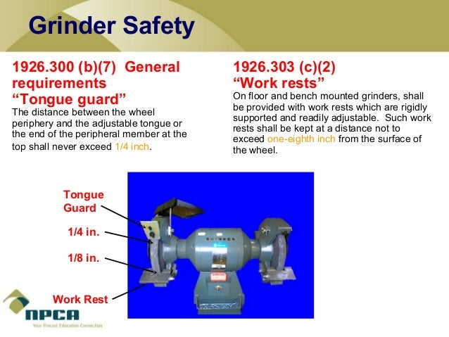 Power Tool Safety By Npca