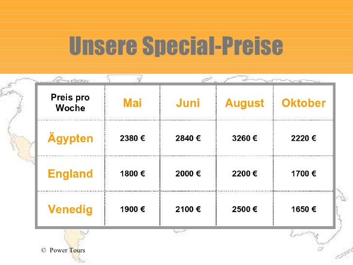 Unsere Special-Preise