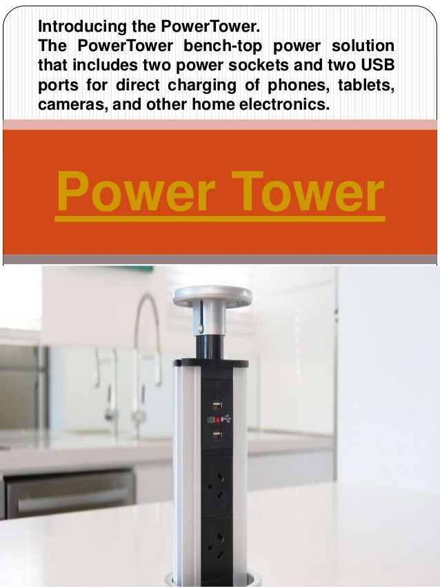 Wonderful Pop Up Electrical Outlet. Power Tower Introducing The PowerTower. The  PowerTower Bench Top Power Solution That Includes Two ...