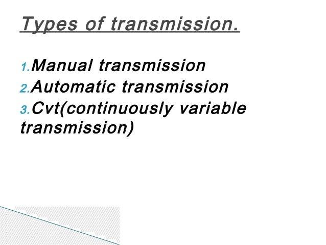 automobile power transmission