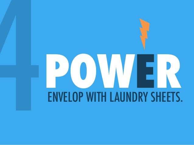 4POWERENVELOP WITH LAUNDRY SHEETS.