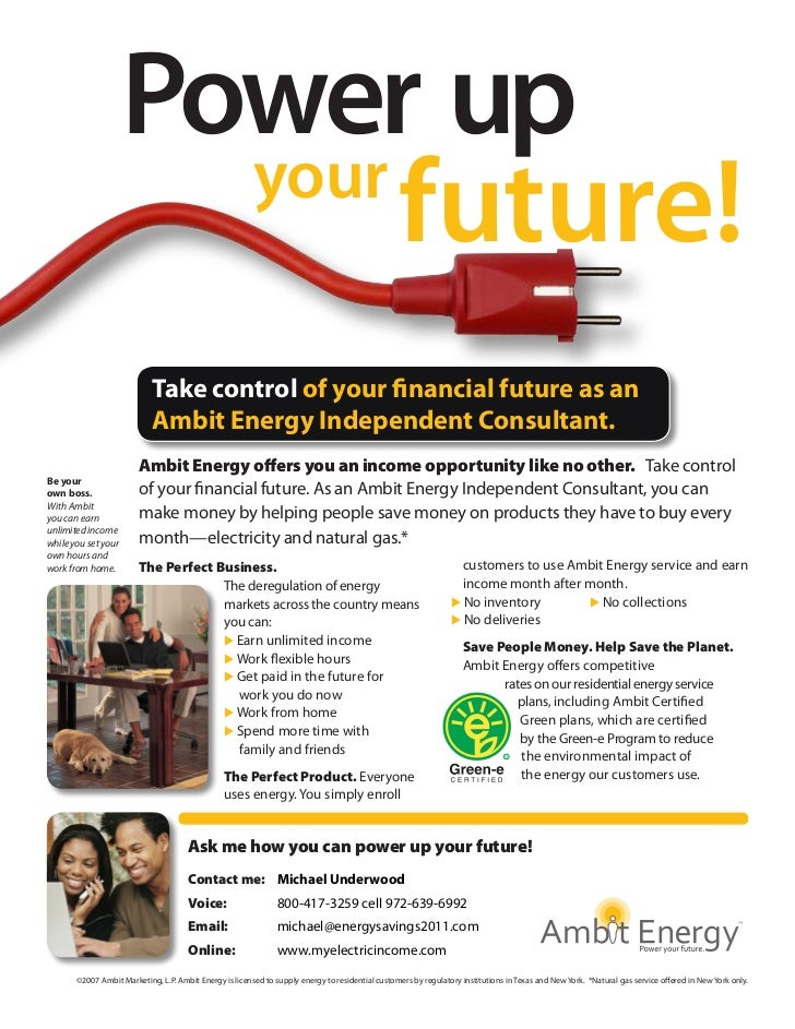 Power up                       your                            future!                            Take control of your fin...