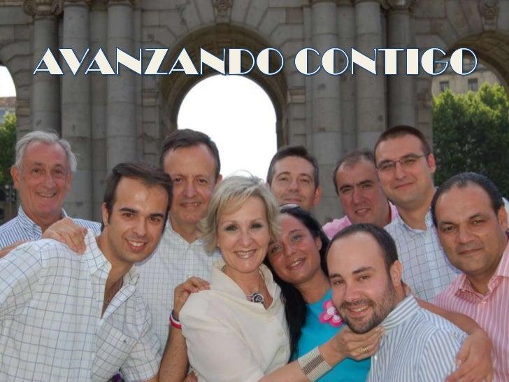 AVANZANDO CONTIGO<br />