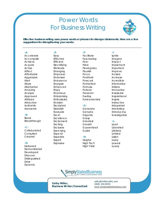 good vocabulary words for creative writing Writing terms november 5 relating to or characteristic of creative writing vocabularycom can put you on the path to systematic vocabulary improvement.
