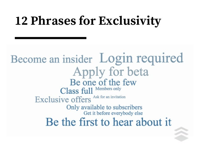 12 Phrases for Exclusivity Accordingly As a result Because Caused by Consequently Due to For this reason Since Therefore T...