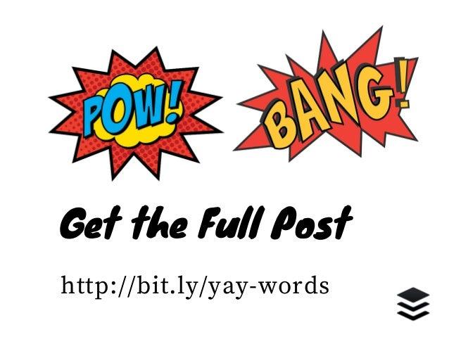 Power Words - 189 Words That Convert