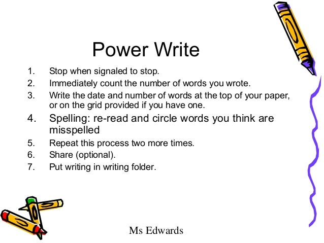 The power of one essay