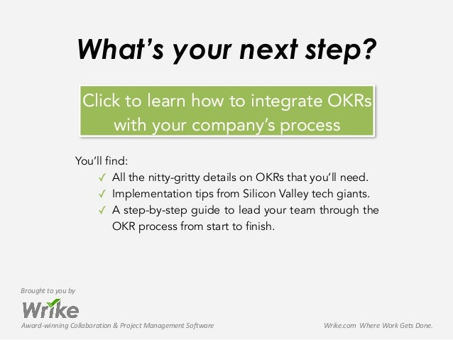 Award-‐winning  Collaboration  &  Project  Management  Software Brought  to  you  by Wrike.com    Whe...