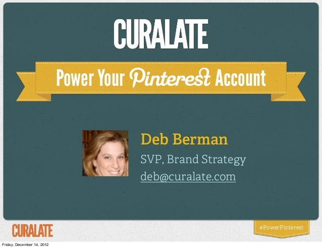 Power Your                Account                                         Deb Berman                                      ...