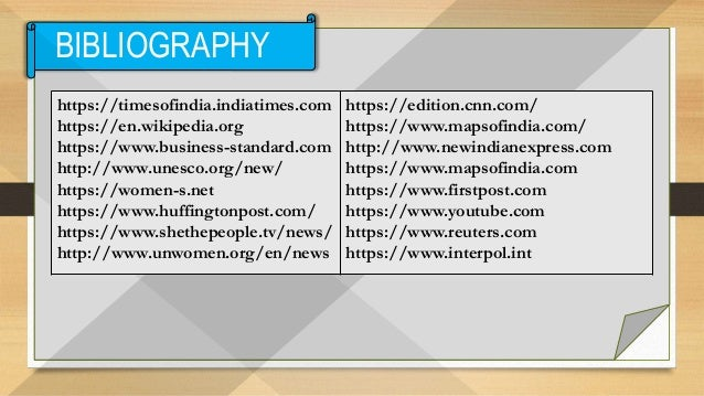 PPT - Problems of Women in India 2018