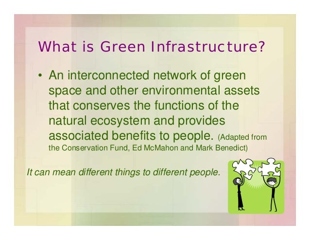 What is Green Infrastructure? Slide 2