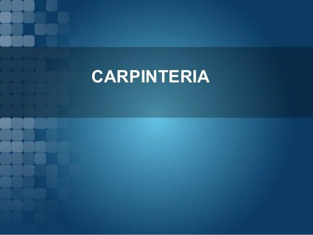 CARPINTERIA