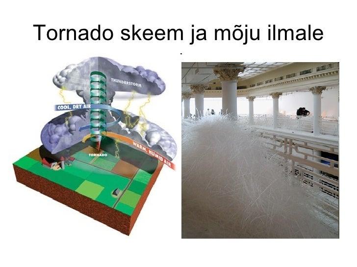 Tornado skeem ja mõju ilmale