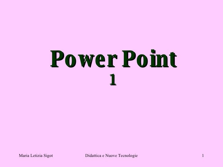 Power Point 1