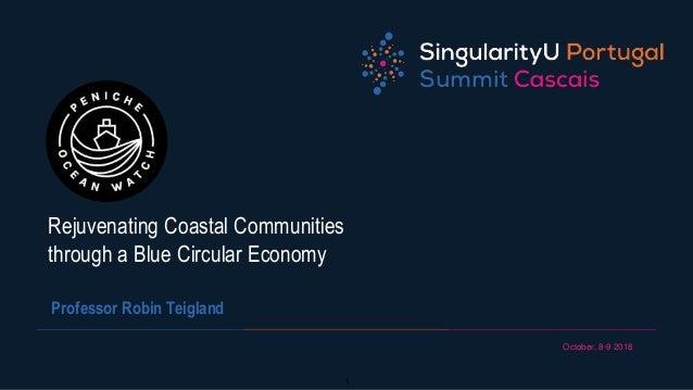 October, 8-9 2018 1 Rejuvenating Coastal Communities through a Blue Circular Economy Professor Robin Teigland