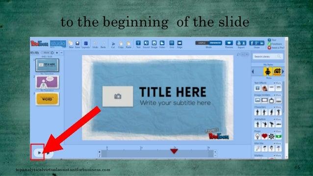 how to make a powtoon presentation