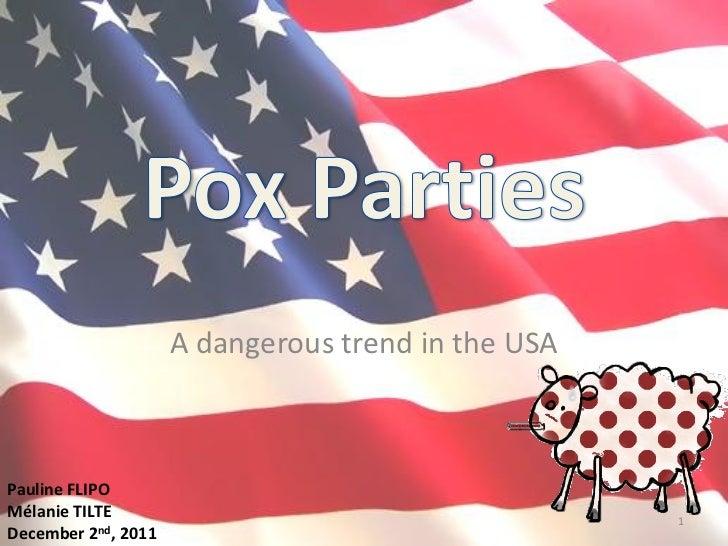 A dangerous trend in the USAPauline FLIPOMélanie TILTE                                       1December 2nd, 2011
