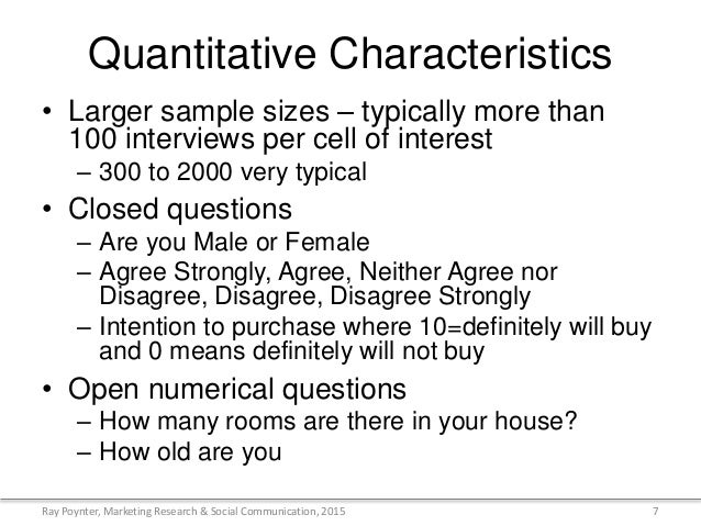 what are the characteristics of quantitative research An overview of quantitative research this modules provides a basic overview of quantitative research, including its key characteristics and advantages.