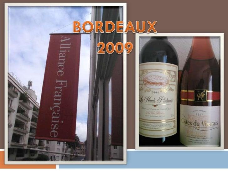 Proiect  Comenius BORDEAUX 2009 prof.GHEORGHE  ELISABETA